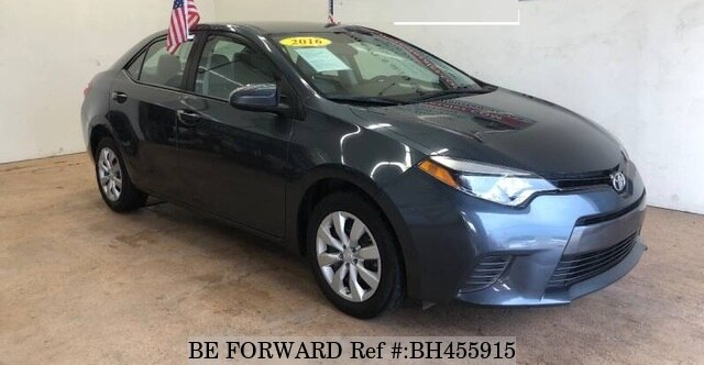 Used 2016 TOYOTA COROLLA BH455915 for Sale