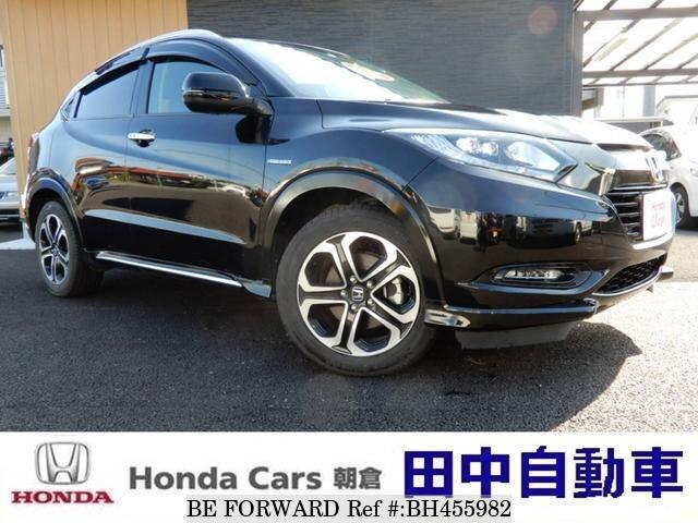 Used 2017 HONDA VEZEL BH455982 for Sale