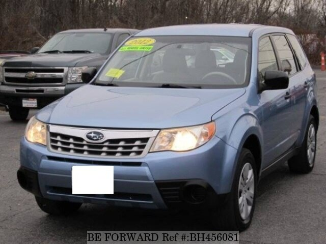 Used 2012 SUBARU FORESTER BH456081 for Sale