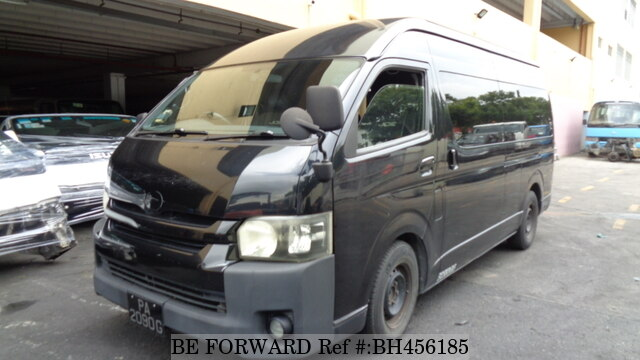 Used 2005 TOYOTA HIACE COMMUTER BH456185 for Sale