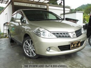 Used 2008 NISSAN TIIDA BH456331 for Sale