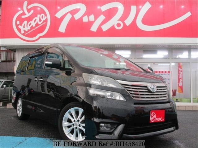 Used 2009 TOYOTA VELLFIRE BH456420 for Sale