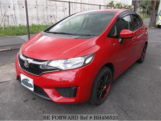 Used 2015 HONDA FIT BH456523 for Sale