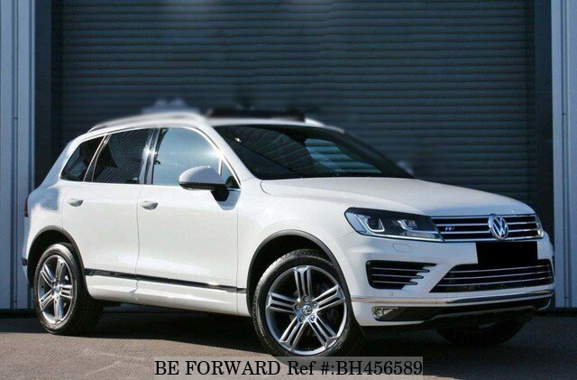 Used 2015 VOLKSWAGEN TOUAREG BH456589 for Sale