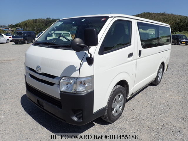 Used 2014 TOYOTA HIACE VAN BH455186 for Sale