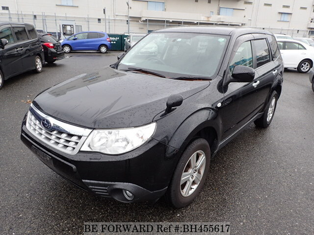 Used 2012 SUBARU FORESTER BH455617 for Sale