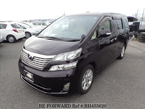 Used 2009 TOYOTA VELLFIRE BH455620 for Sale