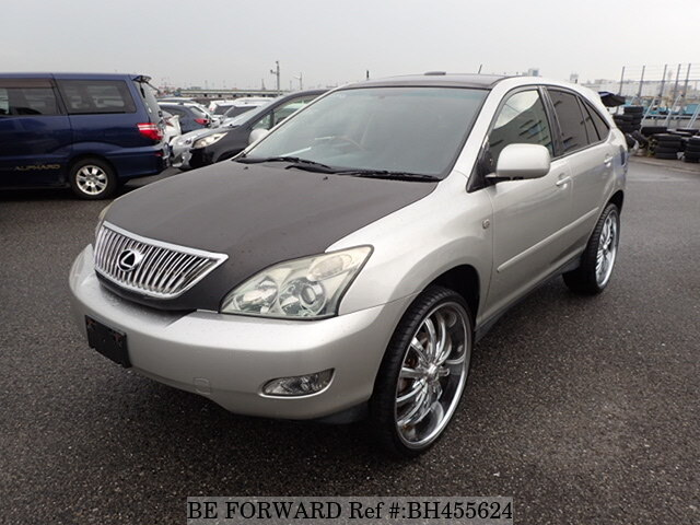 Used 2004 TOYOTA HARRIER BH455624 for Sale
