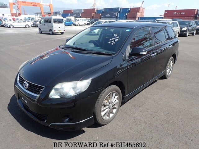 Used 2009 TOYOTA COROLLA FIELDER BH455692 for Sale