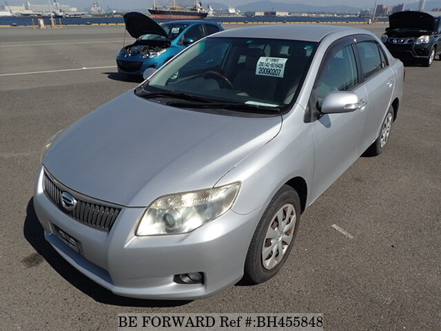 Used 2010 TOYOTA COROLLA AXIO BH455848 for Sale
