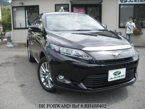Used 2014 TOYOTA HARRIER HYBRID BH458402 for Sale