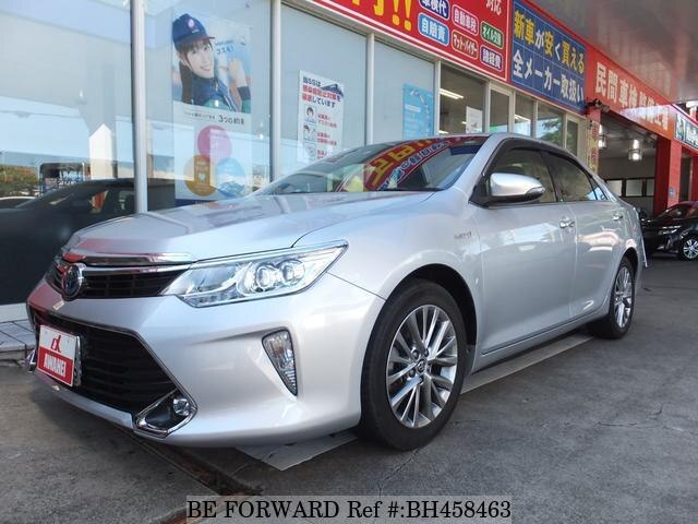 Used 2016 TOYOTA CAMRY BH458463 for Sale