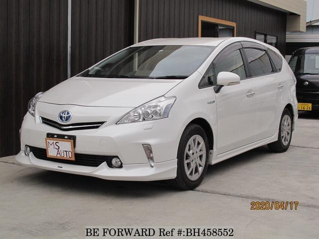 Used 2014 TOYOTA PRIUS ALPHA BH458552 for Sale