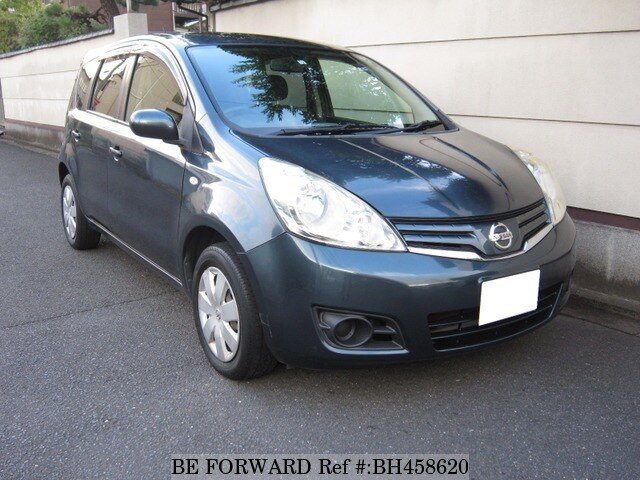 Used 2012 NISSAN NOTE BH458620 for Sale