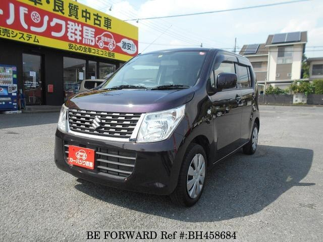 Used 2014 SUZUKI WAGON R BH458684 for Sale
