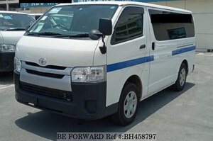 Used 2014 TOYOTA HIACE VAN BH458797 for Sale