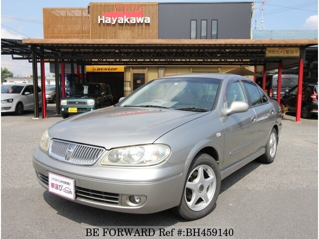 Used 2003 NISSAN BLUEBIRD SYLPHY BH459140 for Sale