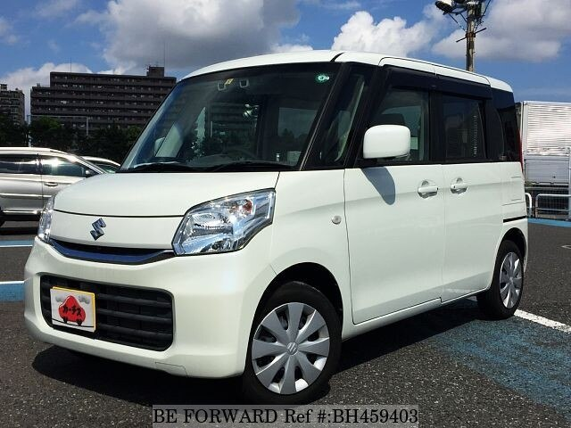 Used 2016 SUZUKI SPACIA BH459403 for Sale