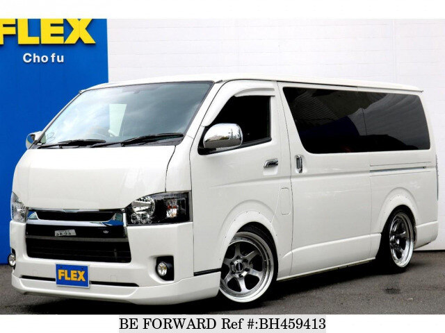 Used 2016 TOYOTA HIACE VAN BH459413 for Sale