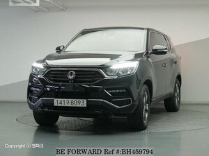 Used 2017 SSANGYONG REXTON BH459794 for Sale