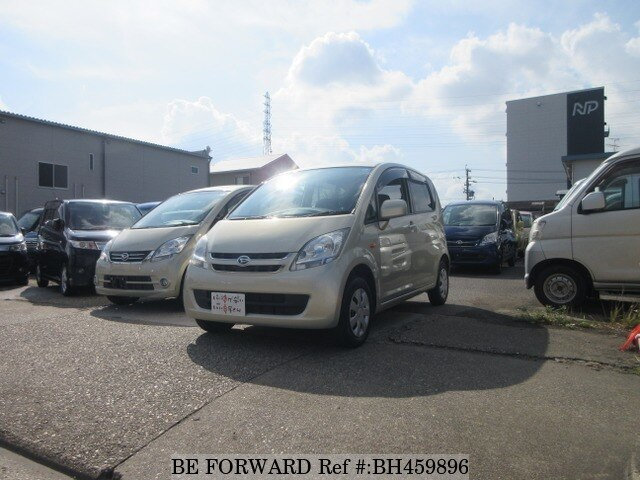 Used 2007 DAIHATSU MOVE BH459896 for Sale