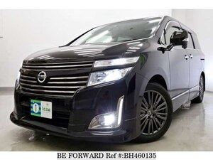 Used 2012 NISSAN ELGRAND BH460135 for Sale
