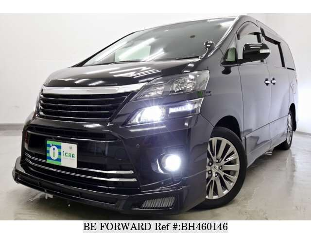 Used 2013 TOYOTA VELLFIRE BH460146 for Sale