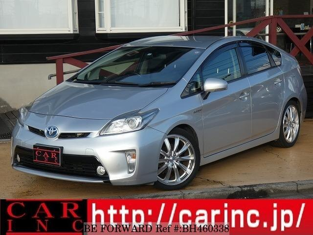 Used 2012 TOYOTA PRIUS BH460338 for Sale