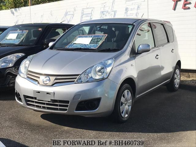 Used 2010 NISSAN NOTE BH460739 for Sale