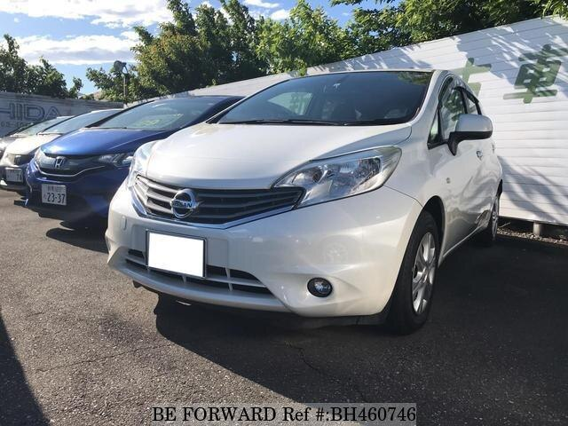 Used 2012 NISSAN NOTE BH460746 for Sale