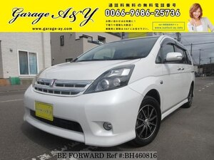 Used 2010 TOYOTA ISIS BH460816 for Sale
