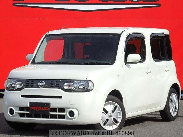 Used 2010 NISSAN CUBE BH460898 for Sale