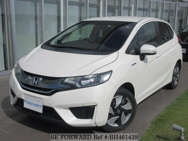 Used 2013 HONDA FIT HYBRID BH461439 for Sale