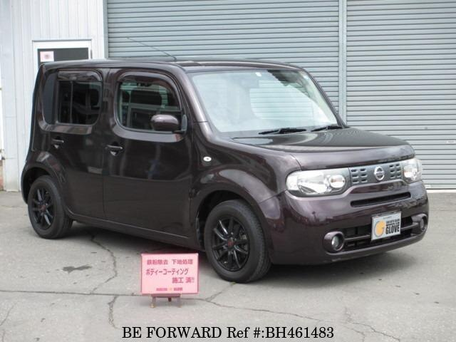 Used 2011 NISSAN CUBE BH461483 for Sale