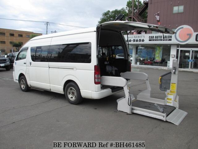 Used 2012 TOYOTA HIACE COMMUTER BH461485 for Sale