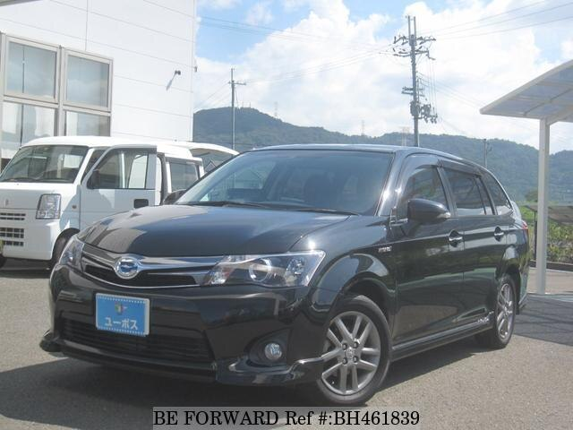 Used 2013 TOYOTA COROLLA FIELDER BH461839 for Sale