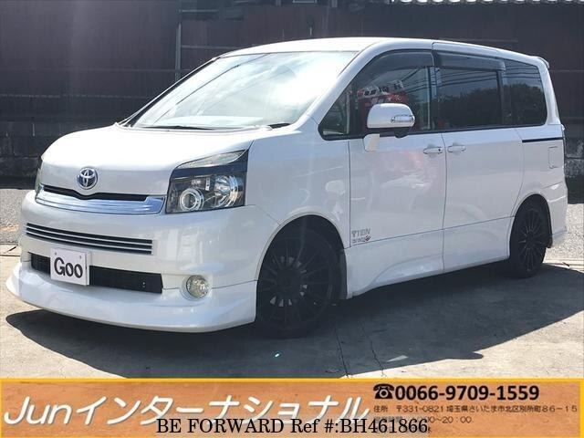Used 2007 TOYOTA VOXY BH461866 for Sale
