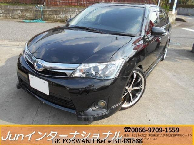 Used 2014 TOYOTA COROLLA FIELDER BH461868 for Sale