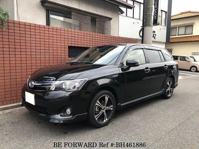 Used 2014 TOYOTA COROLLA FIELDER BH461886 for Sale