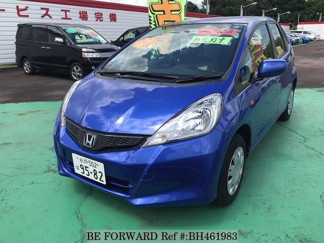 Used 2012 HONDA FIT BH461983 for Sale