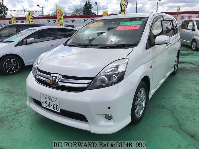 Used 2012 TOYOTA ISIS BH461990 for Sale