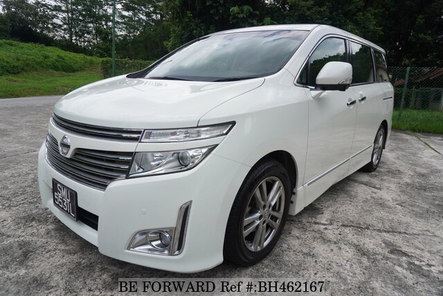 Used 2012 NISSAN ELGRAND BH462167 for Sale