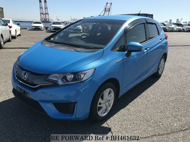 Used 2014 HONDA FIT HYBRID BH461632 for Sale