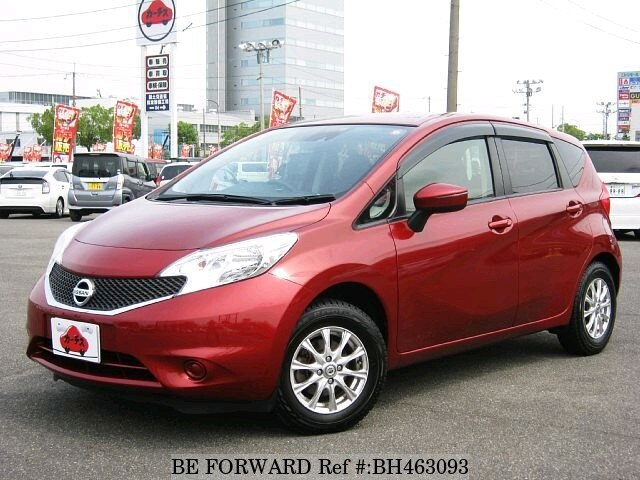 Used 2014 NISSAN NOTE BH463093 for Sale