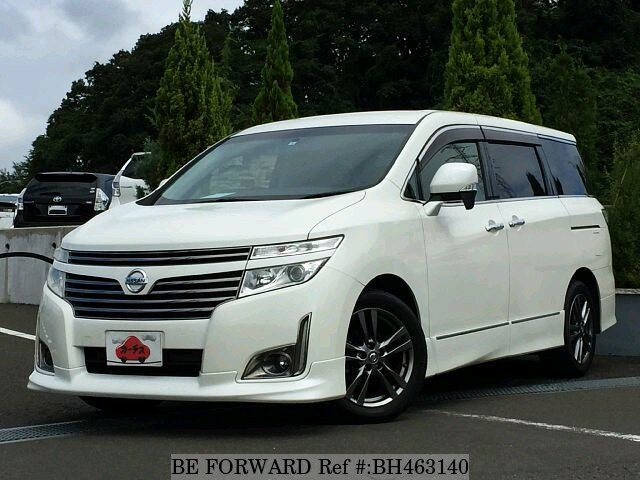 Used 2012 NISSAN ELGRAND BH463140 for Sale