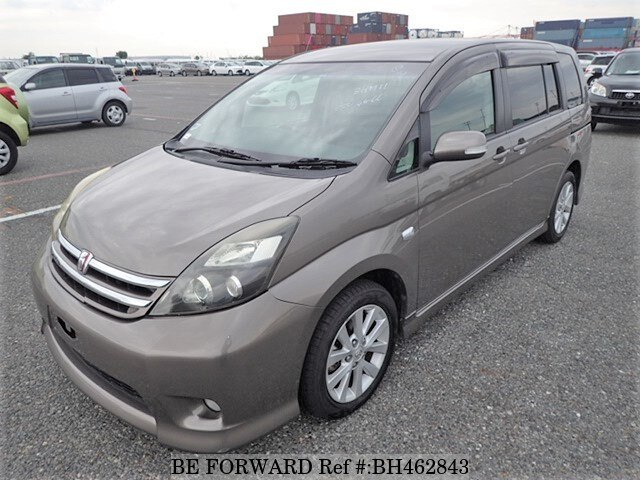 Used 2010 TOYOTA ISIS BH462843 for Sale