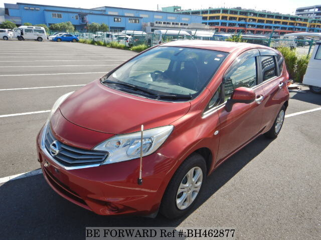 Used 2013 NISSAN NOTE BH462877 for Sale