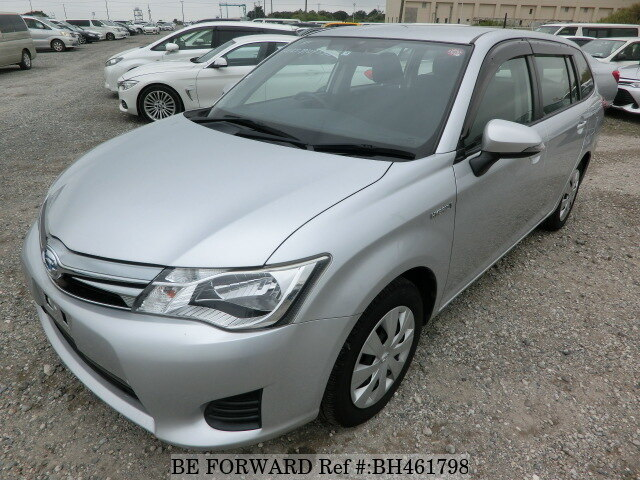 Used 2015 TOYOTA COROLLA FIELDER BH461798 for Sale