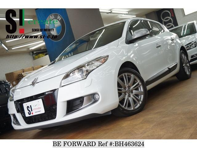 Used 2012 RENAULT MEGANE BH463624 for Sale