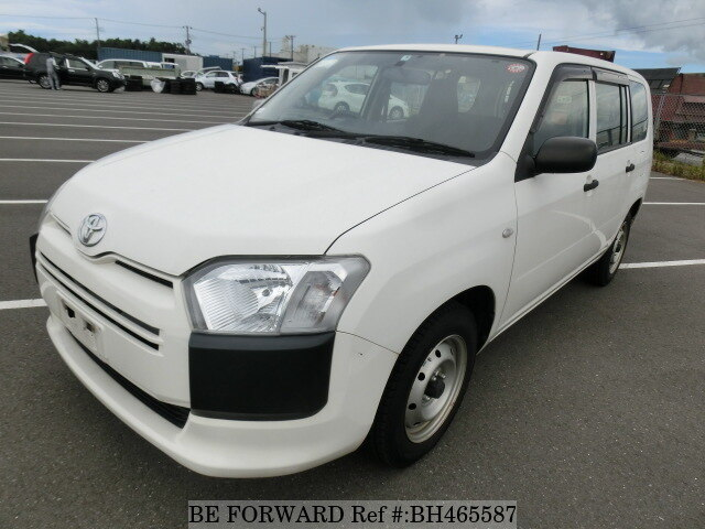 Used 2015 TOYOTA SUCCEED VAN BH465587 for Sale